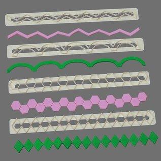 FMM FMM Straight Frill Cutters No.5