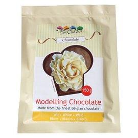 FunCakes FunCakes Modelling Chocolate Wit -150g-