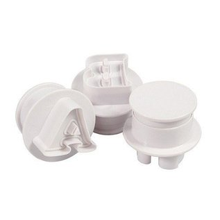 CakeStar Cake Star Push Easy Cutters Upper Case set 26 delig