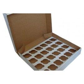 24 CupcakeDoos karton met inlay