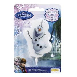 Cake Candle Frozen Olaf