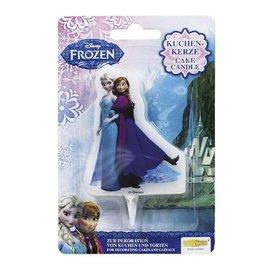 Cake Candle Frozen Elsa & Anna