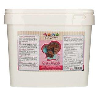 FunCakes FunCakes Mix voor Chocolade Biscuit 5kg -Emmer-