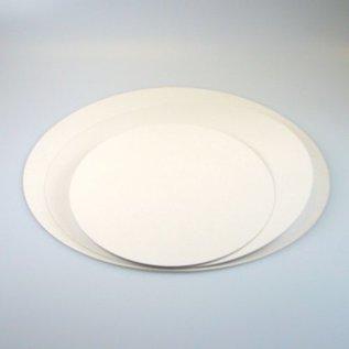 FunCakes Vetvrije Taartkartons Wit -26 cm - 5 stuks