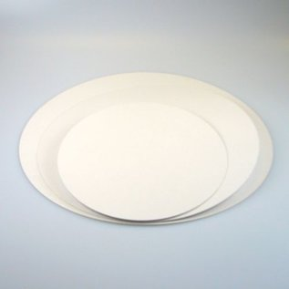 FunCakes Vetvrije Taartkartons Wit -16 cm - 5 stuks