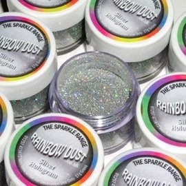 RainbowDust RD Decorative Sparkles Hologram - Silver -5g-