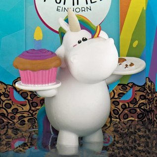 Decoratief Figuur Chubby Unicorn - Birthday