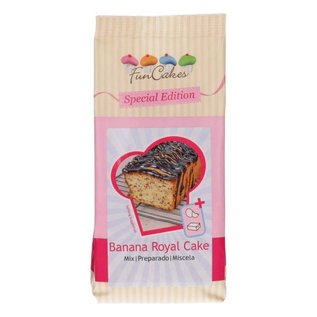 FunCakes FunCakes Special Edition Mix voor Banana Royal Cake 400g