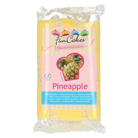 FunCakes FunCakes Smaakfondant -Ananas- 250g