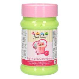 FunCakes FunCakes Dip 'n Drip Slime Green 375g