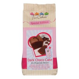 FunCakes FunCakes Special Edition Mix voor Donkere Choco Cake 400g