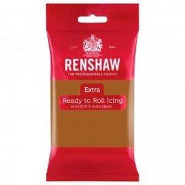 Renshaw Renshaw Rolfondant Extra 250g -Teddy Bear Brown-