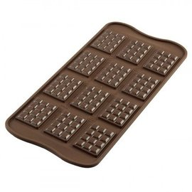 Silikomart Silikomart Chocolate Mould Tablette 12st