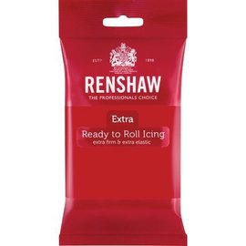 Renshaw Renshaw Rolfondant Extra 250g -Red-