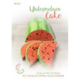Paisley BakHetZelf Watermeloen cake 400 gram