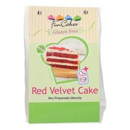 FunCakes FunCakes Mix voor Red Velvet Cake, Glutenvrij 400g