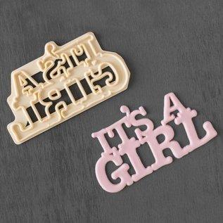 FMM FMM It's a Girl Cutter
