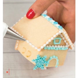 Decora 3D Mini House Cookie Cutter