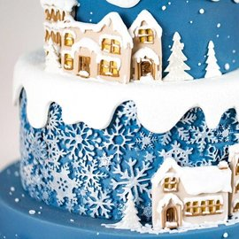 karen davies Karen Davies Siliconen Mould - Sugar Snowflakes