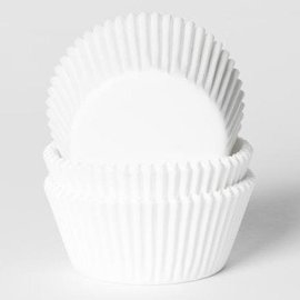 House of Marie House of Marie Baking cups Mini Wit - pk/500
