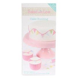 Baked With Love Sugar Decoration Vlaggetjes set