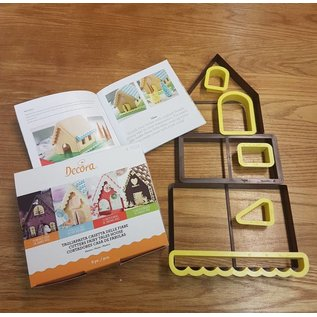 Decora 3D House Cookie Cutter, Huis