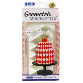 PME PME Geometric Multicutter Diamond XL Set/3