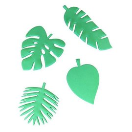 FMM FMM Totally Tropical Leaves Cutters Set/4