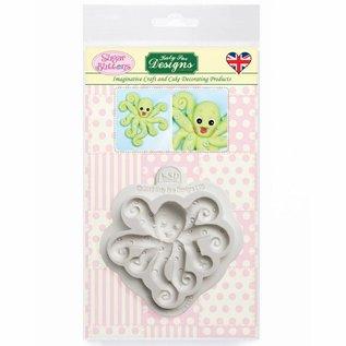 Katy Sue Katy Sue Mould Sugar Buttons - Octopus