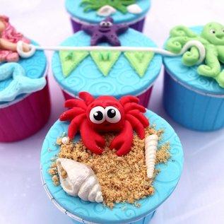 Katy Sue Katy Sue Mould Sugar Buttons - Crab And Fish