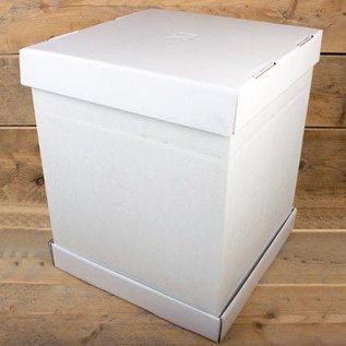 FunCakes FunCakes StapelTaartdoos -Blanco 52x52x70cm