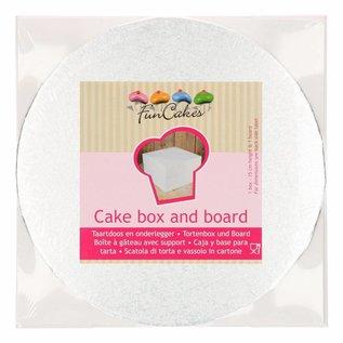 FunCakes Funcakes Taartdoos & Rond Cake Board (3mm) 25x25x15cm