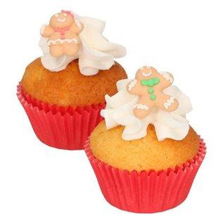 FunCakes Funcakes Suikerdecoratie Gingerbread Set/8