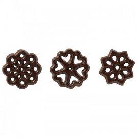Callebaut Chocoladedecoratie Figurettes Ass. Puur 150st.
