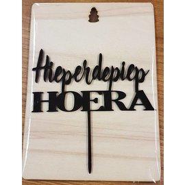 CakeTopper HieperdePiep