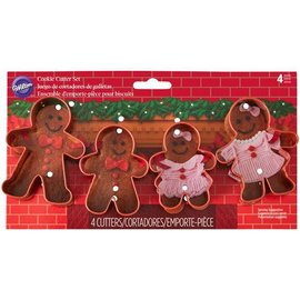Wilton Wilton Cookie Cutter Set Gingerbread