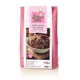 Madame LouLou Mdm Loulou Hazelnoot/Cacao Koekjes Mix 350g GLUTENVRIJ en lactose vrij