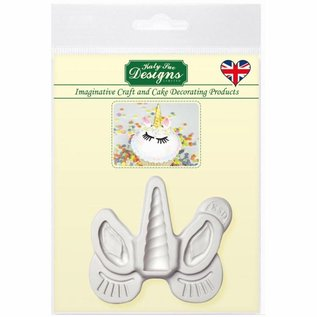 Katy Sue Katy Sue Mould - Unicorn Ears, Horn And Lashes