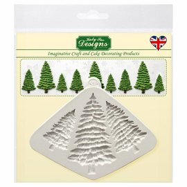 Katy Sue Katy Sue Mould Fir Trees Silhouettes