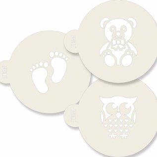 JEM JEM Stencil Baby pk/3