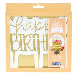 PME PME Cake Topper Cutter Happy Birthday - Modern