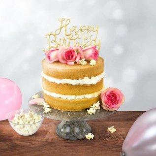 PME PME Cake Topper Cutter Happy Birthday - Script