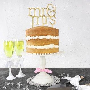 PME PME Cake Topper Cutter Mr & Mrs - Modern
