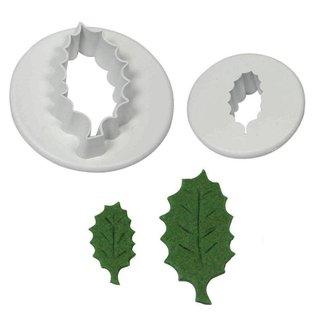PME PME Holly/hulst Leaf Cutters Set/2