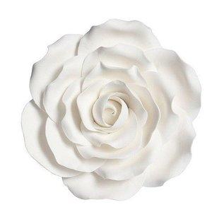 Suikerbloem Roos - Wit - 10cm