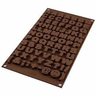 Silikomart Silikomart Chocolate Mould Choco ABC