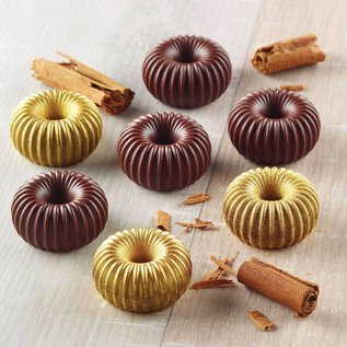 Silikomart Silikomart Chocolate Mould Choco Crown