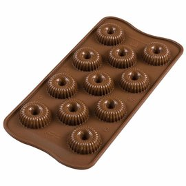 Silikomart Silikomart Chocolate Mould Choco Crown