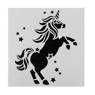 Stadter Sjabloon Unicorn 148x148mm