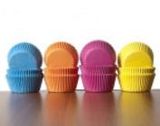 Cupcakepapiertjes 1 kleur